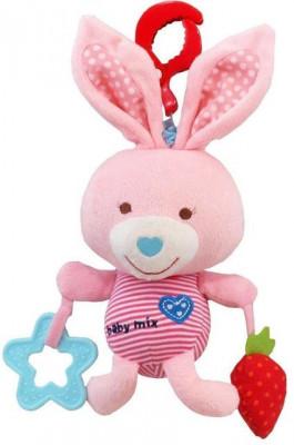 Jucarie muzicala din plus Pink Rabbit foto
