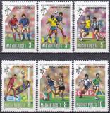 Ungaria, sport, fotbal, CM Italia, 1990, MNH, Nestampilat