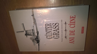 Gunter Grass - Ani de ciine (Editura Polirom, 2014) foto