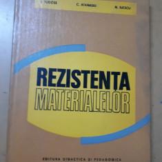 Tudose, Atanasiu și Iliescu, Rezistența materialelor