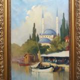 Tablou Constantin Artachino  cu Expertiza, Peisaje, Ulei