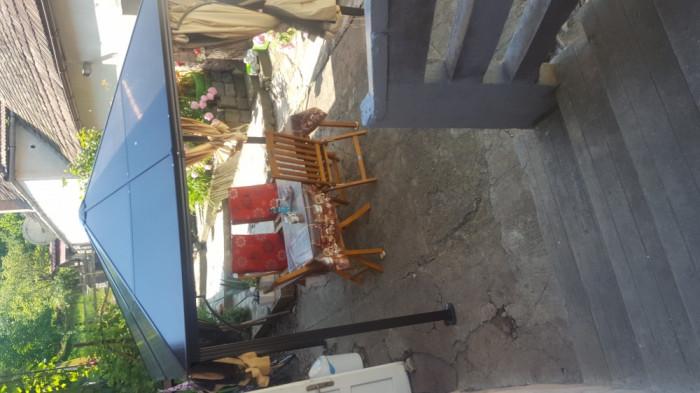 Pavilion si masa cu scaune model nina toom sduse din germania foto mare