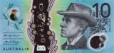 AUSTRALIA █ bancnota █ 10 Dollars █ 2017 █ UNC █ necirculata █ polymer
