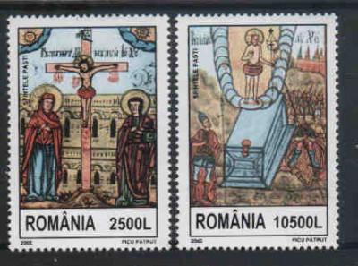 2002 Romania,LP 1583-Sfintele Pasti -MNH foto