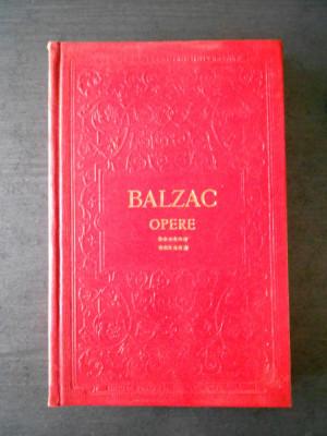 BALZAC - OPERE volumul 12 foto
