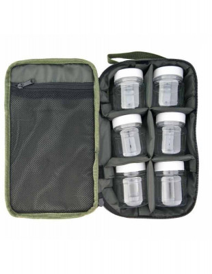 Penar cu 6 compartimente ?i 6 recipiente, 30x19x8cm, verde foto