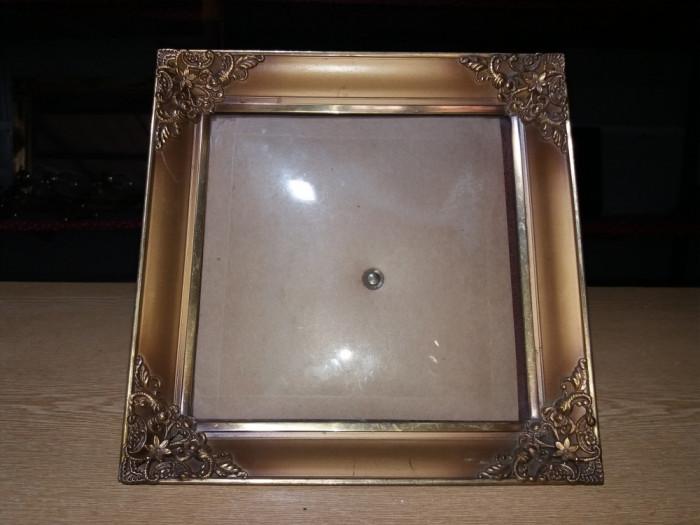 Rama foto din bronz masiv