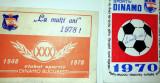 LOT 2 CALENDARE / CALENDAR - CLUBUL SPORTIV DINAMO BUCURESTI - 1970 /1978