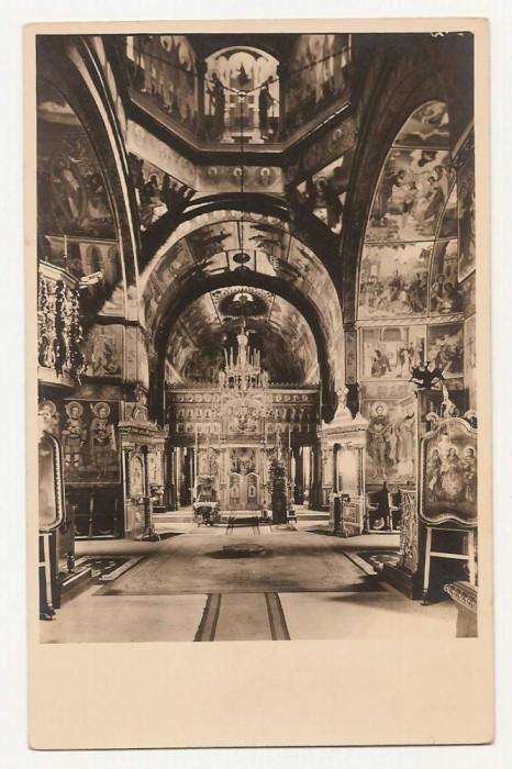 interiorul bisericii Manastirea Caldarusani