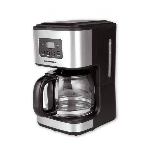 Cafetiera digitala Heinner HCM-D915 900W 1.5l negru / inox foto mare