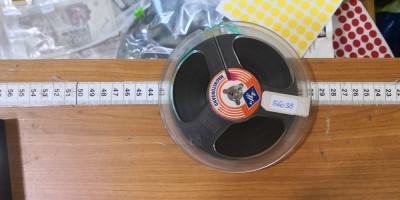 Rola Magnetofon Agfa 13cm in cutie (56038) foto