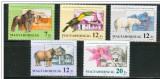 Ungaria, fauna, gorila, tucan, urs polar, 1991, MNH, Nestampilat