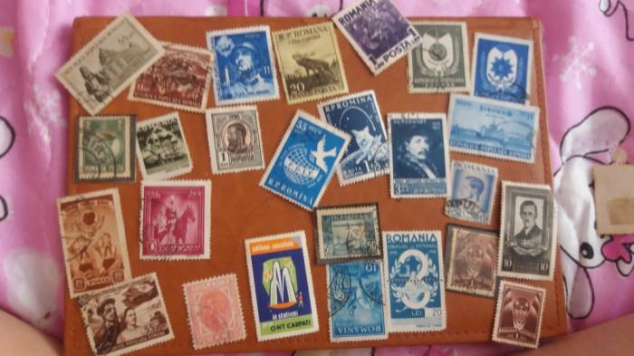 Vând timbre de colectie