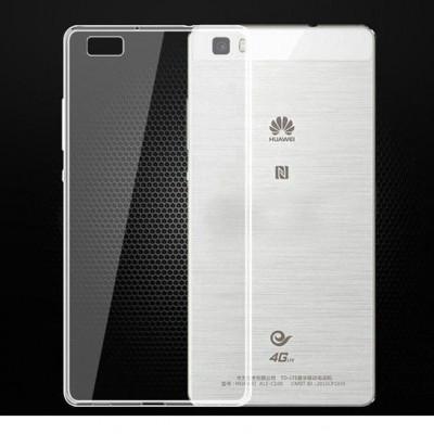 Husa Elegance Luxury TPU slim transparent pentru Huawei P8 Lite foto