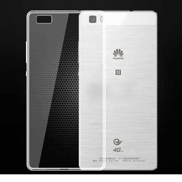 Husa Elegance Luxury TPU slim transparent pentru Huawei P8 Lite foto mare