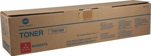 Toner Original pentru Konica-Minolta Magenta TN-210M, compatibil BizHub...