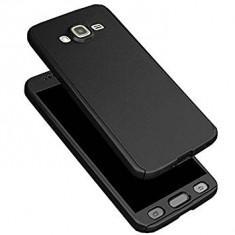Husa FullBody Elegance Luxury Black pentru Samsung Galaxy J5 2017 acoperire 360 grade cu folie de protectie GRATIS !