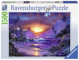 Puzzle Rasarit paradis, 1500 piese, Ravensburger
