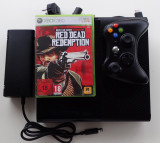 Consola Microsoft Xbox 360 Slim Elite 250Gb impecabil joc Red Dead Redemption