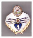 Insigna Transmisionist clasa I RSR, Romania de la 1950