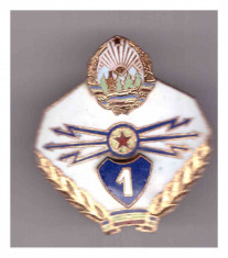 Insigna Transmisionist clasa I RSR foto