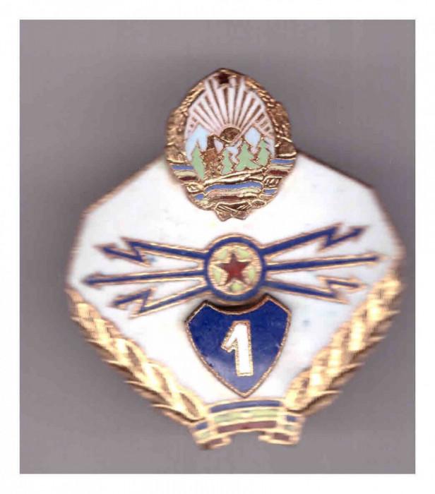 Insigna Transmisionist clasa I RSR