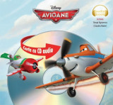 Disney: Avioane. Carte cu CD audio, litera