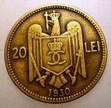 2.033 ROMANIA CAROL II 20 LEI 1930