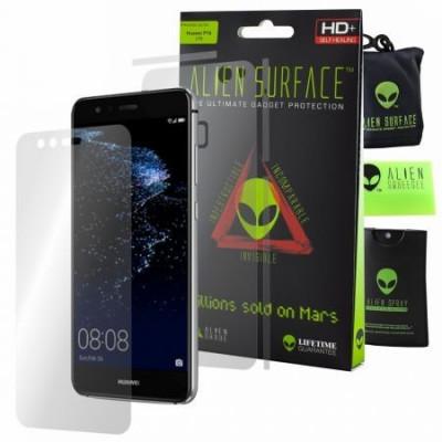 Folie Alien Surface HD, Huawei P10 Lite, protectie ecran, spate, laterale + Alien Fiber Cadou foto