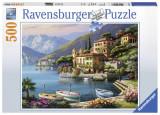 Puzzle Coasta Italiei, 500 piese, Ravensburger