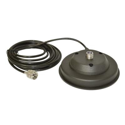 Resigilat : Baza magnetica Midland 120/PL Cod T036 125mm contine cablu 3m si mufa foto