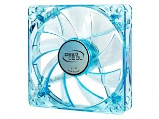 Cooler DeepCool Fan for Case, Hydro Bearing, dimensiuni 120X120X25mm, Fan Speed... foto