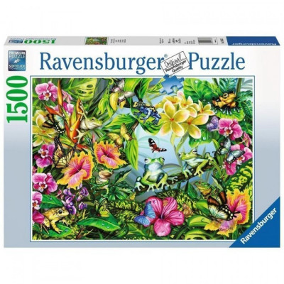Puzzle gaseste broscutele, 1500 piese Ravensburger foto