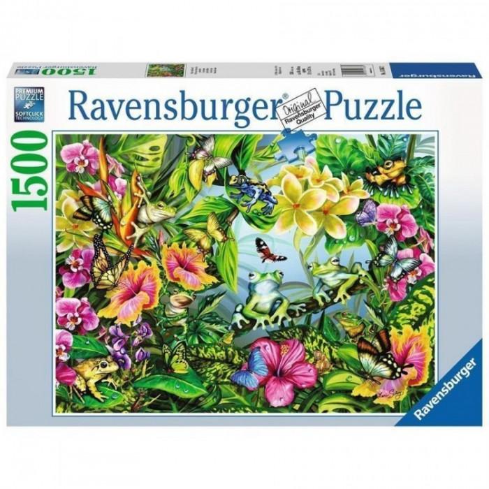 Puzzle gaseste broscutele, 1500 piese Ravensburger