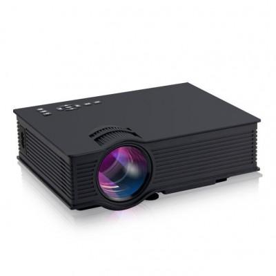 VideoProiector Byintek BT460 LED Mini Black, Wi-Fi HDMI, USB, SD, AV si VGA foto