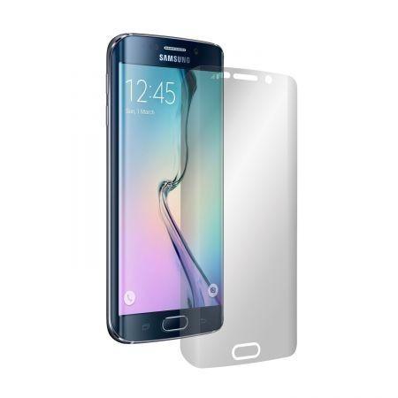 Folie Alien Surface HD, Samsung Galaxy S6 Edge, protectie ecran + Alien Fiber cadou