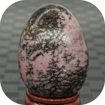 Ou Rhodonite 35 x 50 mm_colectie roci_minerale * cod 6.1 foto