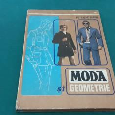 MODĂ ȘI GEOMETRIE*TEHNICA CONFECȚIONĂRII ÎMBRĂCĂMINTEI/ PETRACHE DRAGU/ 1978
