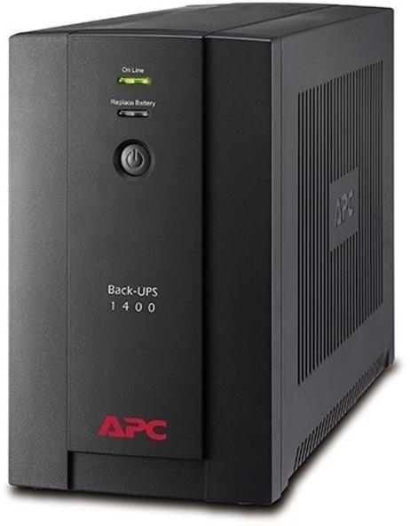 """UPS APC Back-UPS BX 1400VA """"BX1400U-GR"""" ( include timbru verde 5 lei) foto mare"""