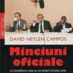 Minciuni Oficiale - de DAVID HEYLEN CAMPOS
