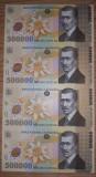 LOT COLI BNR NETAIATE  500000 - 500.000 si 10000 - 10.000 LEI / ROMANIA / F930