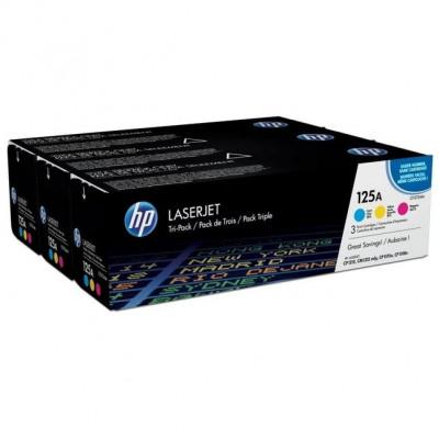 Toner Original pentru HP Color Tri-Pack 128A, compatibil CM1415/CP1525N,... foto