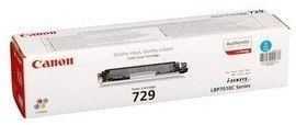 Toner Original pentru Canon Cyan CRG-729C, compatibil LBP7018C, 1000pag... foto