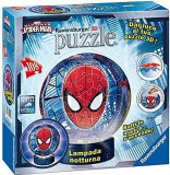 PUZZLE 3D LUMINOS SPIDERMAN, 108 PIESE, Ravensburger