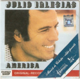 Julio Iglesias-America,cd,original-editie Jurnalul National-la plic