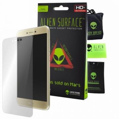 Folie Alien Surface HD, Huawei P9 Lite 2017, protectie ecran + Alien Fiber cadou foto