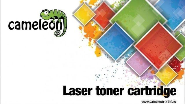 Toner Compatibil Cameleon CE252A/CRG723Y Yellow, pentru HP LJ CP3525N, 7000pag,... foto mare
