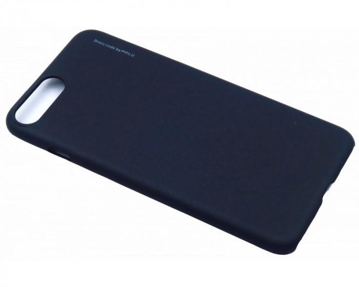 Husa Elegance Luxury X-LEVEL Metalic Black pentru Apple iPhone 7 foto mare