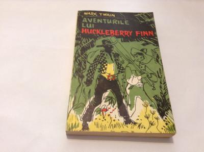 Aventurile lui Huckleberry Finn-mark twain-rf14/1 foto