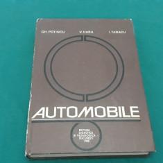 AUTOMOBILE/ GH. POȚINCU/ 1980